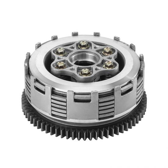 CG 200 clutch,  6 pcs clutch friction disks and 6 columns