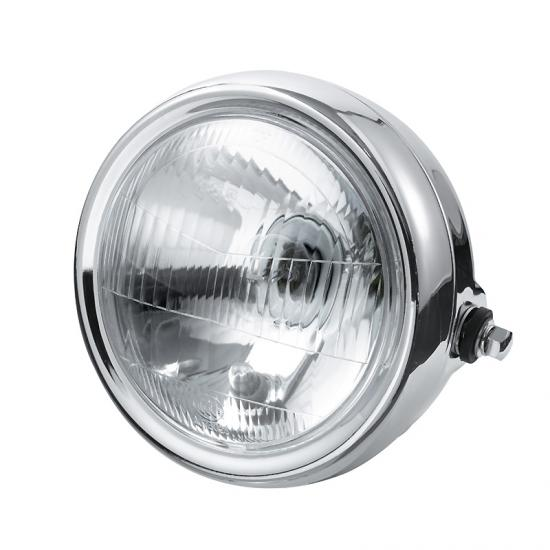 More visible GN head light of motorcycle